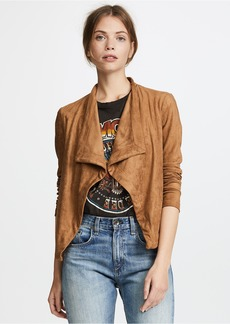 BB Dakota Nanette Faux Suede Jacket