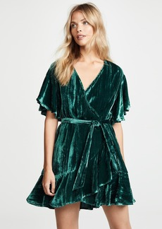 BB Dakota Night Fever Wrap Dress
