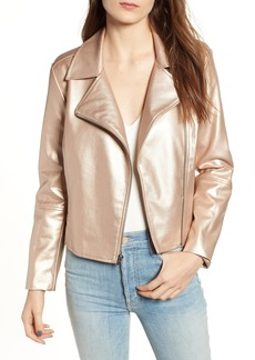 BB Dakota Night Rider Metallic Moto Jacket