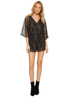 BB Dakota Odelia Sequin Detailed Romper