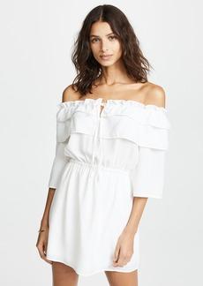 BB Dakota Off Shoulder Ruffle Dress
