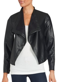 Saks Fifth Avenue RED Open Front Jacket