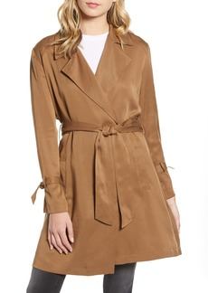 BB Dakota Pardon My Trench Belted Lyocell Trench Coat