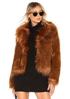 BB Dakota Penny Lane Faux Fur Jacket