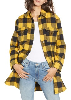 BB Dakota Plaid Company Shirt Coat