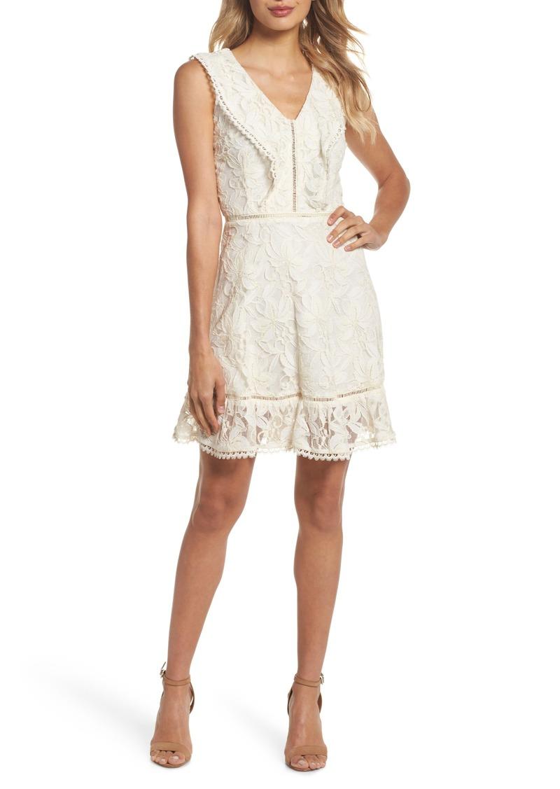 BB Dakota Rease Ruffle Lace Dress