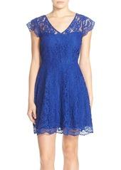 BB Dakota 'Reece' Lace Fit & Flare Dress