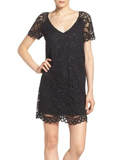 BB Dakota Rene Corded Lace Shift Dress
