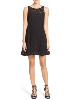 BB Dakota Renley Lace Fit & Flare Minidress (Nordstrom Exclusive)