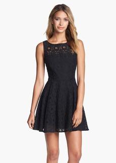 BB Dakota 'Renley' Lace Fit & Flare Dress (Nordstrom Exclusive)