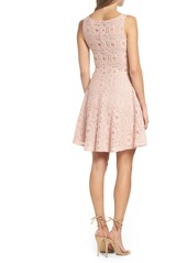 BB Dakota 'Renley' Lace Fit & Flare Dress (Nordstrom Exclusive)