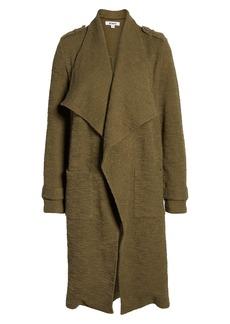 BB Dakota Revolution Drapey Bouclé Trench Coat