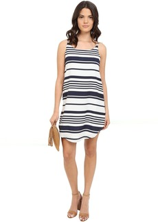 BB Dakota Riley Striped Crepon Dress