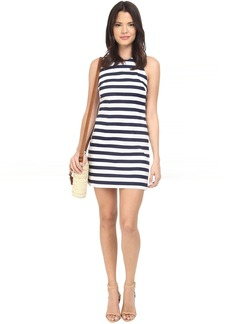 BB Dakota Robinson Stripe Cut Out Back Dress