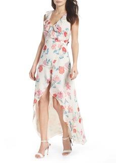 BB Dakota RSVP High/Low Wrap Dress