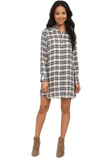 BB Dakota Ruger Plaid Shift Dress