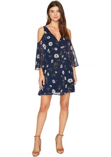 BB Dakota Rylie Cold Shoulder Printed Dress
