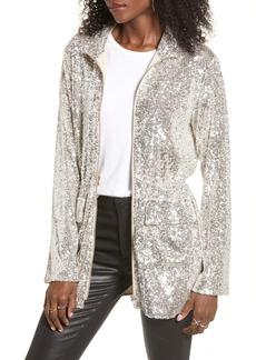 BB Dakota Sequin Premiere Stretch Jacket