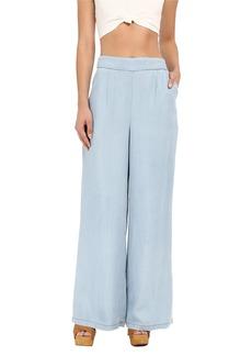 BB Dakota Skylee Denim Tencel High Waisted Pants in Light Blue