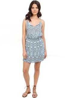 BB Dakota Stacey Moroccan Tile Twill Dress