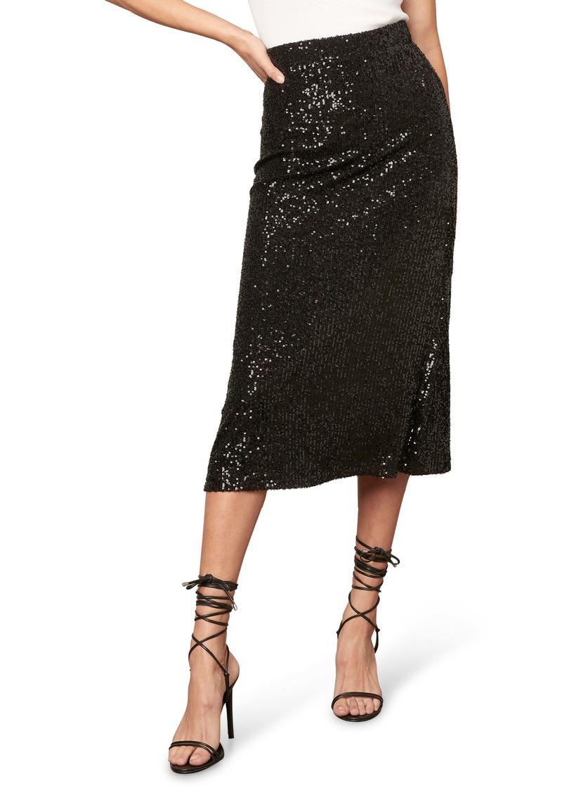 BB Dakota Starry Night Sequin Skirt