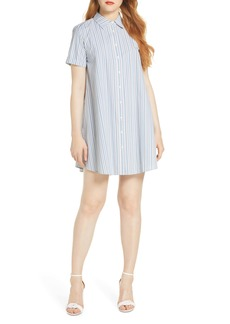 BB Dakota Stripe A Personality Shirtdress