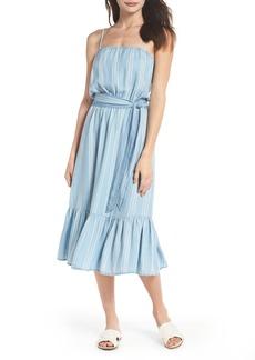 BB Dakota Tailyn Stripe Midi Dress