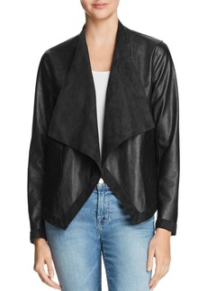 BB DAKOTA Teagan Reversible Faux Leather & Faux Suede Jacket
