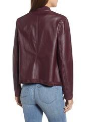 745af7cac BB Dakota BB Dakota Teagan Reversible Faux Leather Drape Front ...