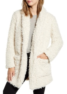 BB Dakota Teddy Faux Shearling Coat