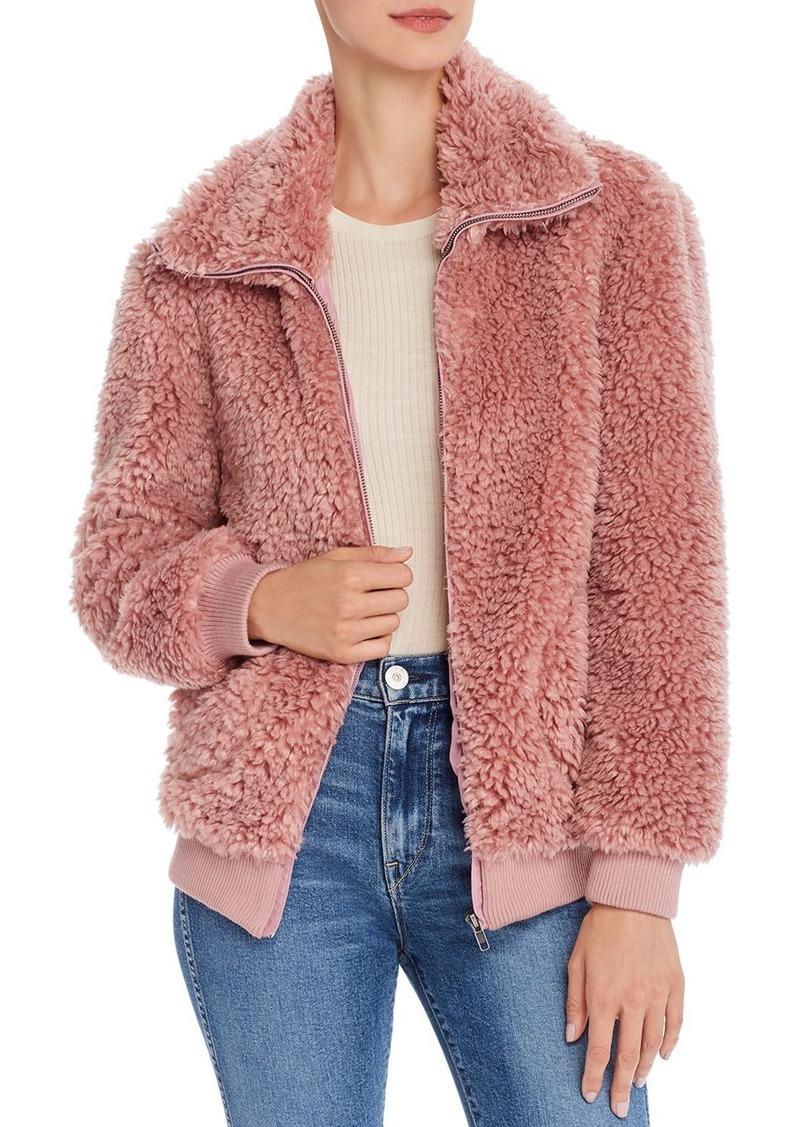 BB DAKOTA Teddy Or Not Faux-Fur Jacket