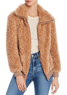 BB DAKOTA Teddy Or Not Faux-Fur Jacket
