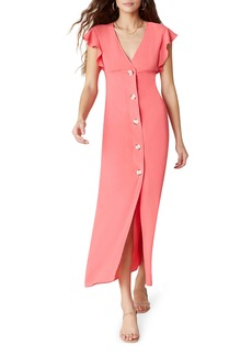 BB Dakota That's Amore Button Maxi Dress