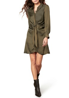 BB Dakota Tie Curious Shirtdress