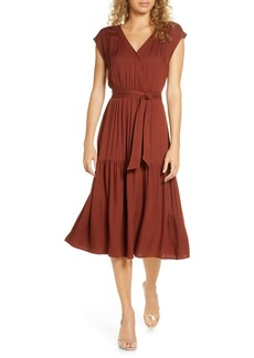 BB Dakota Tie Waist Midi Dress