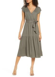 BB Dakota Tie Waist Midi Dress