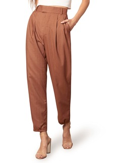 BB Dakota Twill Call Pinstripe High Waist Pants