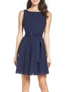 BB Dakota Ty Fit & Flare Dress