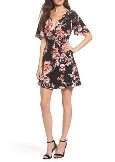 BB Dakota Wait Until Dark Floral Dress