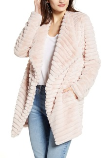 BB Dakota What A Girl Wants Faux Fur Coat