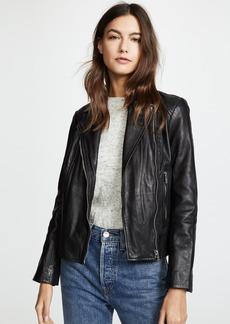 BB Dakota Wild Ride Leather Moto Jacket