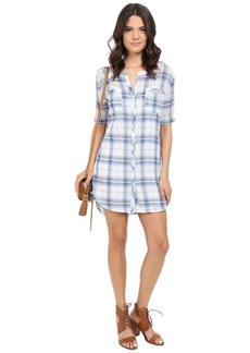 BB Dakota William Plaid Shirtdress
