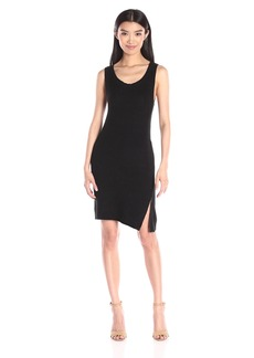 BB Dakota Women's Alexa Zip Side Sweater Dress