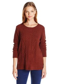 BB Dakota Women's Aries Cable Knit Sweater