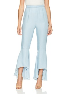 BB Dakota Women's Atwell Ruffle Detail Pants