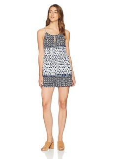 BB Dakota Women's Beale Tie Dye Printed Romper