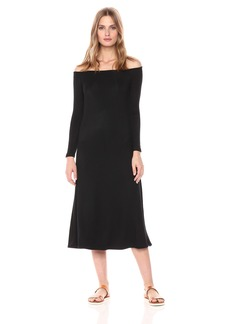 BB Dakota Women's Blaire Off The Shoulder Maxi Dress