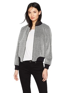 BB Dakota Women's Briarlyn Lurex Bomber Jacket