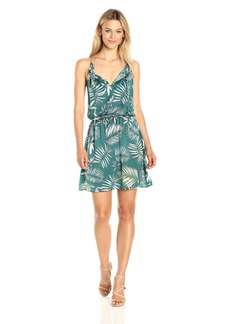 BB Dakota Women's Brooks Print Crepe Dress