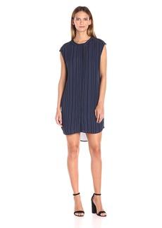 BB Dakota Women's Broxton Printed Strip Dress